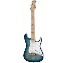 N Zaganin Modern ST Blueburst Guitar