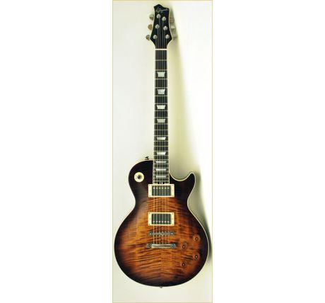 N Zaganin LP Honeytone Custom Guitar