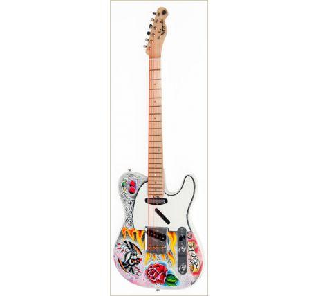 N Zaganin Psychedelic TL Guitar