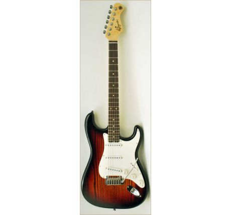 N Zaganin Supreme ST Vintage Sunburst Guitar