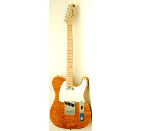 N Zaganin TL Top Plus Amber Guitar